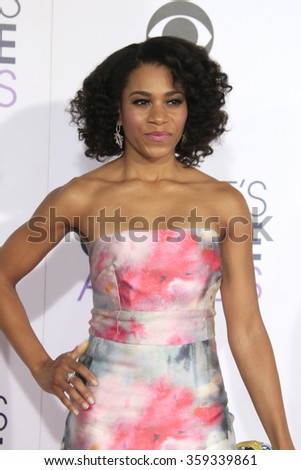 LOS ANGELES - JAN 6:  Kelly McCreary at the Peoples Choice Awards 2016 - Arrivals at the Microsoft Theatre L.A. Live on January 6, 2016 in Los Angeles, CA - stock photo