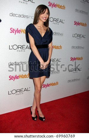 "LOS ANGELES - JAN 27:  Kelsey Chow arrives at ""A Night of Red-Carpet Style"" Party hosted by People Stylewatch Magazine at Decades Boutique on January 27, 2011 in Los Angeles, CA"