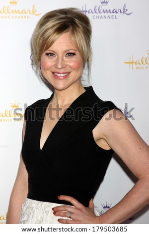 LOS ANGELES - JAN 11: Kristin Booth at the Hallmark Winter TCA Party at The Huntington Library on January 11, 2014 in San Marino, CA