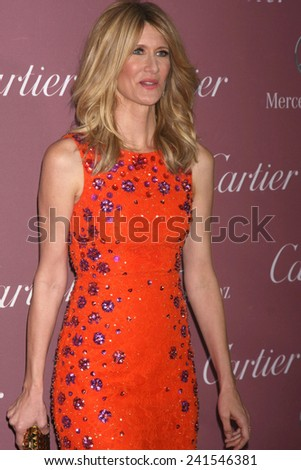 LOS ANGELES - JAN 3:  Laura Dern at the Palm Springs Film Festival Gala at a Convention Center on January 3, 2014 in Palm Springs, CA