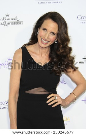 LOS ANGELES - JAN 8: Laura Nativo at the TCA Winter 2015 Event For Hallmark Channel and Hallmark Movies & Mysteries at Tournament House on January 8, 2015 in Pasadena, CA - stock photo