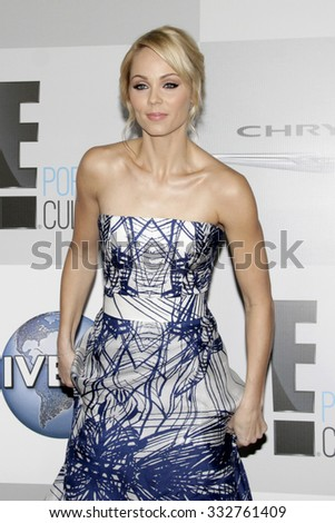 LOS ANGELES - JAN 11:  Laura Vandervoort at the NBC Post Golden Globes Party at a Beverly Hilton on January 11, 2015 in Beverly Hills, CA - stock photo