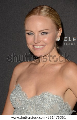 LOS ANGELES - JAN 10:  Malin Akerman at the Weinstein Company & Netflix 2016 Golden Globe After Party at the Beverly Hilton on January 10, 2016 in Beverly Hills, CA - stock photo