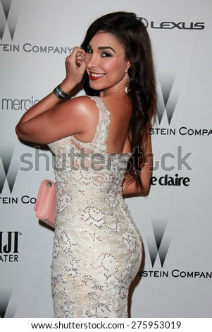LOS ANGELES - JAN 11:  Mayra Veronica at the The Weinstein Company / Netflix Golden Globes After Party at a Beverly Hilton Adjacent on January 11, 2015 in Beverly Hills, CA - stock photo