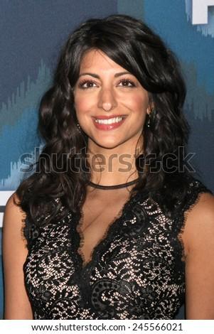 LOS ANGELES - JAN 17:  Meera Rohit Kumbhani at the FOX TCA Winter 2015 at a The Langham Huntington Hotel on January 17, 2015 in Pasadena, CA - stock photo