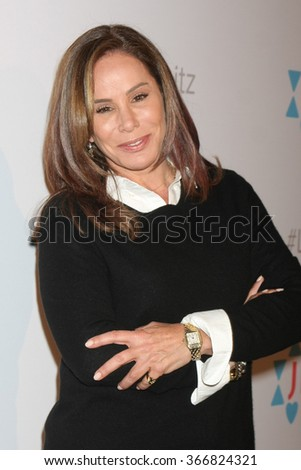 LOS ANGELES - JAN 20:  Melissa Rivers at the Let's Kibitz Showcase at the Improv on January 20, 2016 in Los Angeles, CA - stock photo