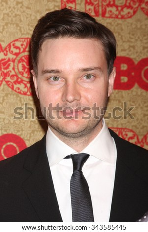 LOS ANGELES - JAN 12:  Michael McMillian at the HBO 2014 Golden Globe Party at the Beverly Hilton Hotel on January 12, 2014 in Beverly Hills, CA - stock photo