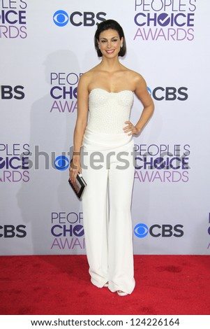 LOS ANGELES - JAN 9: Morena Baccarin at the 39th Annual People's Choice Awards at Nokia Theater L.A. Live on January 9, 2013 in Los Angeles, California