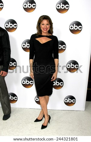 LOS ANGELES - JAN 14:  Nancy Lee Grahn at the ABC TCA Winter 2015 at a The Langham Huntington Hotel on January 14, 2015 in Pasadena, CA - stock photo