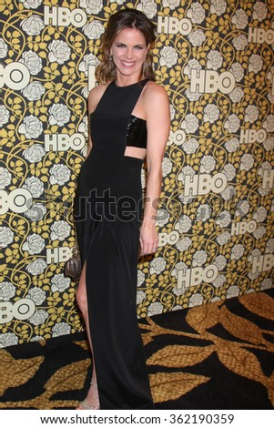 LOS ANGELES - JAN 10:  Natalie Morales at the HBO Golden Globes After Party 2016 at the Beverly Hilton on January 10, 2016 in Beverly Hills, CA - stock photo