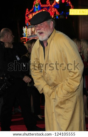 LOS ANGELES - JAN 7: Nick Nolte at Warner Bros. Pictures' 'Gangster Squad' premiere at Grauman's Chinese Theater on January 7, 2013 in Los Angeles, California - stock photo