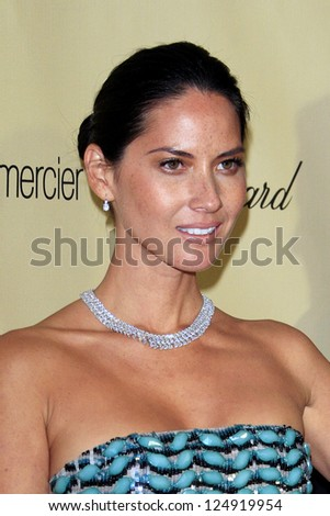 LOS ANGELES - JAN 13:  Olivia Munn arrives at the 2013 Weinstein Post Golden Globe Party at Beverly Hilton Hotel on January 13, 2013 in Beverly Hills, CA..