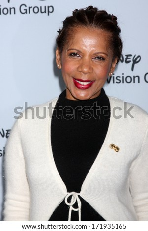LOS ANGELES - JAN 17:  Penny Johnson Jerald at the Disney-ABC Television Group 2014 Winter Press Tour Party Arrivals at The Langham Huntington on January 17, 2014 in Pasadena, CA
