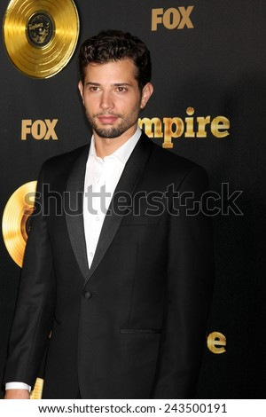 "LOS ANGELES - JAN 6:  Rafeal De La Fuente at the FOX TV ""Empire"" Premiere Event at a ArcLight Cinerama Dome Theater on January 6, 2014 in Los Angeles, CA - stock photo"