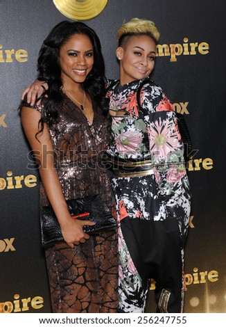 """LOS ANGELES - JAN 06:  Raven Simone arrives to the """"Empire"""" Los Angeles Premiere  on January 6, 2015 in Hollywood, CA                 - stock photo"""