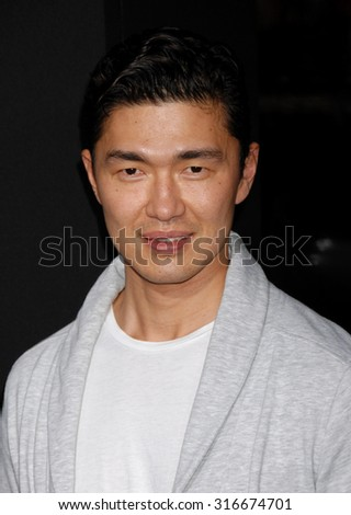LOS ANGELES - JAN 24 - Rick Yune arrives at the Hansel and Gretel Witch Hunters Los Angeles Premiere on January 24, 2013 in Hollywood, CA              - stock photo