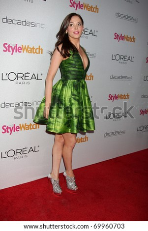 "LOS ANGELES - JAN 27:  Rose McGowan arrives at ""A Night of Red-Carpet Style"" Party hosted by People Stylewatch Magazine at Decades Boutique on January 27, 2011 in Los Angeles, CA"