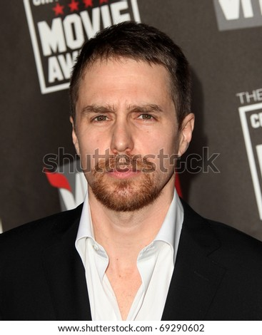 "LOS ANGELES - JAN 14:  Sam Rockwell arrives to 16th Annual ""Critics"" Choice Movie Awards  on January 14, 2011 in Los Angeles, CA"