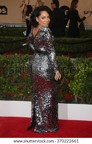 LOS ANGELES - JAN 30:  Selenis Leyva at the 22nd Screen Actors Guild Awards at the Shrine Auditorium on January 30, 2016 in Los Angeles, CA - stock photo