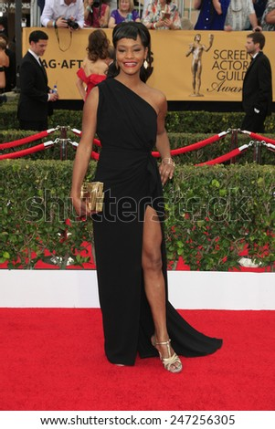LOS ANGELES - JAN 25:  Sufe Bradshaw at the 2015 Screen Actor Guild Awards at the Shrine Auditorium on January 25, 2015 in Los Angeles, CA - stock photo