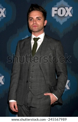 LOS ANGELES - JAN 17:  Thomas Dekker at the FOX TCA Winter 2015 at a The Langham Huntington Hotel on January 17, 2015 in Pasadena, CA - stock photo
