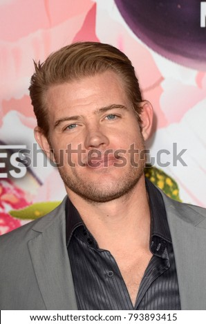 LOS ANGELES - JAN 13:  Trevor Donovan at the Hallmark Channel and Hallmark Movies and Mysteries Winter 2018 TCA Event at the Tournament House on January 13, 2018 in Pasadena, CA