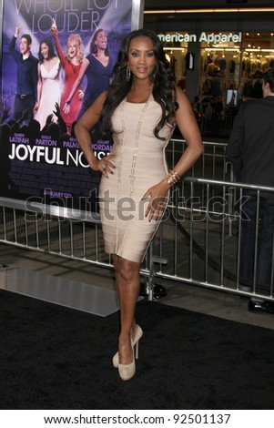 "LOS ANGELES - JAN 9:  Vivica A. Fox arrives at the""Joyful Noise"" Premiere at Graumans Chinese Theater on January 9, 2012 in Los Angeles, CA"