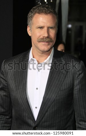 LOS ANGELES - JAN 24: Will Ferrell at the LA premiere of Paramount Pictures' 'Hansel And Gretel: Witch Hunters' at Grauman's Chinese Theater on January 24, 2013 in Los Angeles, California - stock photo