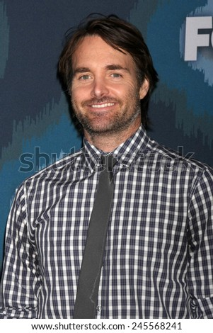 LOS ANGELES - JAN 17:  WIll Forte at the FOX TCA Winter 2015 at a The Langham Huntington Hotel on January 17, 2015 in Pasadena, CA - stock photo