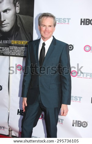 """LOS ANGELES - JUL 11:  Allan Glaser at the """"Tab Hunter Confidential"""" at Outfest at the Directors Guild of America on July 11, 2015 in Los Angeles, CA - stock photo"""