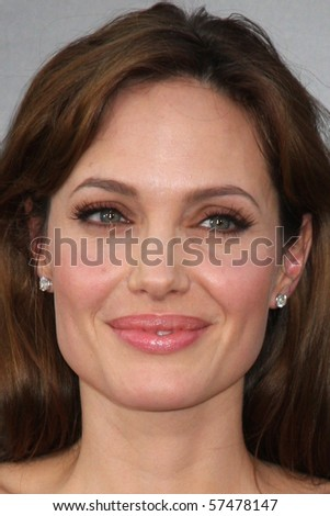 """LOS ANGELES - JUL 19:  Angelina Jolie arrives at the """"Salt"""" Premiere at Grauman's Chinese Theater on July19, 2010 in Los Angeles, CA .... - stock photo"""