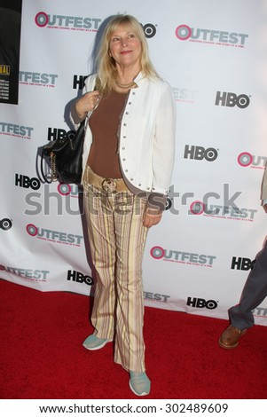 "LOS ANGELES - JUL 11:  Candy Clark at the ""Tab Hunter Confidential"" at Outfest at the Directors Guild of America on July 11, 2015 in Los Angeles, CA - stock photo"