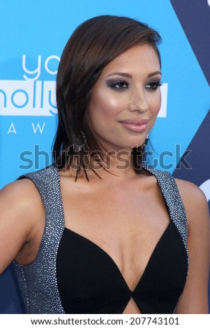 LOS ANGELES - JUL 27:  Cheryl Burke at the 2014 Young Hollywood Awards  at the Wiltern Theater on July 27, 2014 in Los Angeles, CA