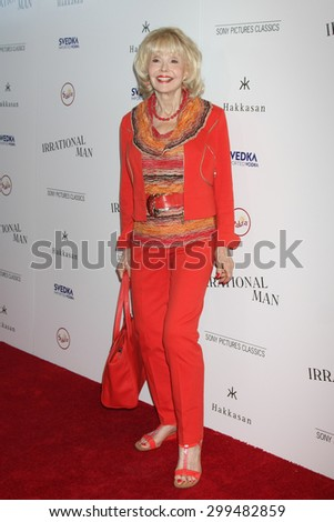 """LOS ANGELES - JUL 9:  Francine York at the """"Irrational Man"""" Los Angeles Premiere at the Writer's Guild of America Theater on July 9, 2015 in Beverly Hills, CA  - stock photo"""