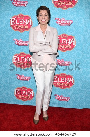 """LOS ANGELES - JUL 16:  Ivonne Coll arrives to the Disney Channel's """"Elena of Avalor"""" Los Angeles Premiere on July 16, 2016 in Beverly Hills, CA                 - stock photo"""