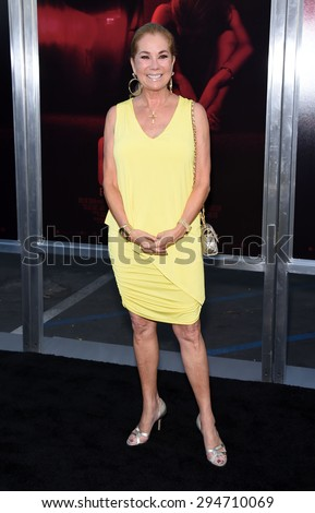 """LOS ANGELES - JUL 07:  Kathie Lee Gifford arrives to the """"The Gallows"""" Los Angeles Premiere  on July 07, 2015 in Hollywood, CA                 - stock photo"""