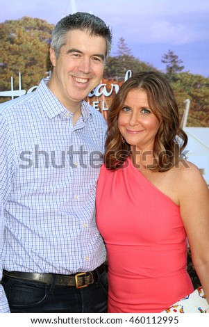 LOS ANGELES - JUL 27:  Keith Christian, Kellie Martin at the Hallmark Summer 2016 TCA Press Tour Event at the Private Estate on July 27, 2016 in Beverly Hills, CA