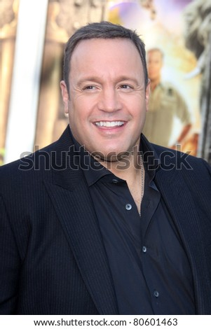 "LOS ANGELES - JUL 6:  Kevin James arriving at the ""Zookeeper"" Premiere at Regency Village Theater  on July 6, 2011 in Westwood, CA"