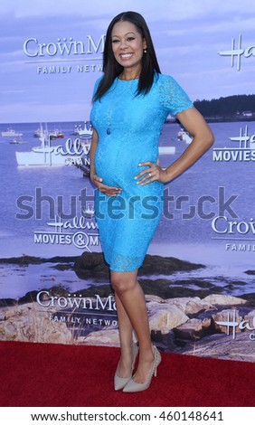 LOS ANGELES - JUL 27:  Kristin Smith arrives to the Hallmark Channel and Hallmark Movies and Mysteries Summer 2016 TCA Press Tour Event  on July 27, 2016 in Beverly Hills, CA                 - stock photo