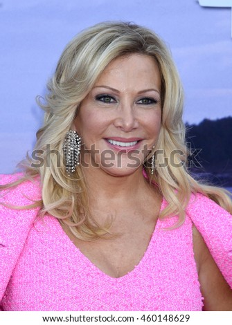 LOS ANGELES - JUL 27:  Kym Douglas arrives to the Hallmark Channel and Hallmark Movies and Mysteries Summer 2016 TCA Press Tour Event  on July 27, 2016 in Beverly Hills, CA                 - stock photo