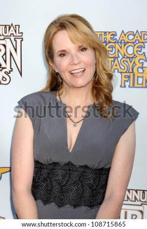 LOS ANGELES - JUL 26:  Lea Thompson arrives at the 2012 Saturn Awards at Castaways on July 26, 2012 in Burbank, CA