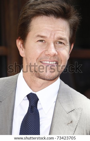 LOS ANGELES - JUL 29:  Mark Wahlberg arrives at a ceremony where he receives a star on the Hollywood Walk of Fame on July 29, 2010 in Los Angeles, California. - stock photo
