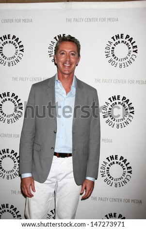 """LOS ANGELES - JUL 16:  Michael McDonald arrives at  """"An Evening With Web Therapy: The Craze Continues..."""" at the Paley Center for Media on July 16, 2013 in Beverly Hills, CA - stock photo"""