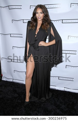LOS ANGELES - JUL 23:  Olivia Pierson at the Michael Costello And Style PR Capsule Collection Launch Party  at the Private Location on July 23, 2015 in Los Angeles, CA - stock photo