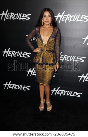 "LOS ANGELES - JUL 23:  Saye Yabandeh at the ""Hercules"" Los Angeles Premiere at the TCL Chinese Theater on July 23, 2014 in Los Angeles, CA"