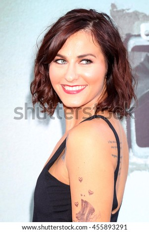 "LOS ANGELES - JUL 19:  Scout Taylor-Compton at the ""Lights Out"" Los Angeles Premiere at the TCL Chinese Theater IMAX on July 19, 2016 in Los Angeles, CA - stock photo"