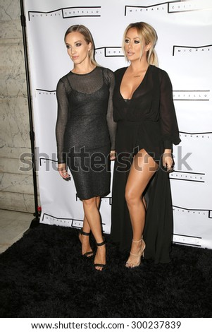 LOS ANGELES - JUL 23:  Shannon Bex, Aubrey O'Day at the Michael Costello And Style PR Capsule Collection Launch Party  at the Private Location on July 23, 2015 in Los Angeles, CA - stock photo