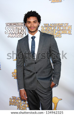 LOS ANGELES - JUL 26:  Steven Cole arrives at the 2012 Saturn Awards at Castaways on July 26, 2012 in Burbank, CA - stock photo