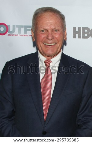 """LOS ANGELES - JUL 11:  Tab Hunter, Don Murray at the """"Tab Hunter Confidential"""" at Outfest at the Directors Guild of America on July 11, 2015 in Los Angeles, CA - stock photo"""