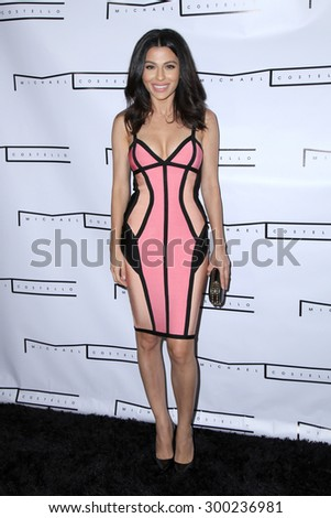 LOS ANGELES - JUL 23:  Teni Panosian at the Michael Costello And Style PR Capsule Collection Launch Party  at the Private Location on July 23, 2015 in Los Angeles, CA - stock photo